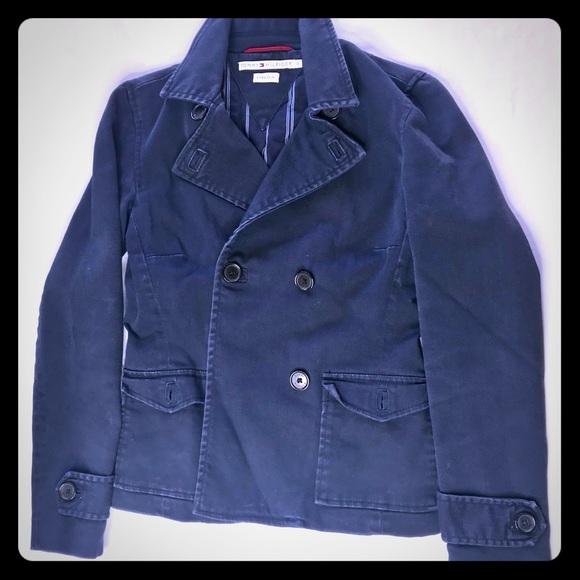 Tommy Hilfiger Womens Stretch Denim Jacket